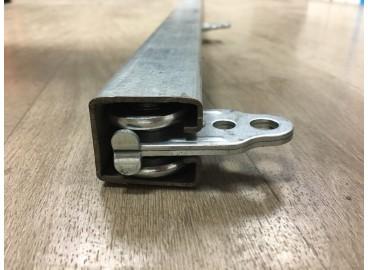 Rail avec roulette 35X30