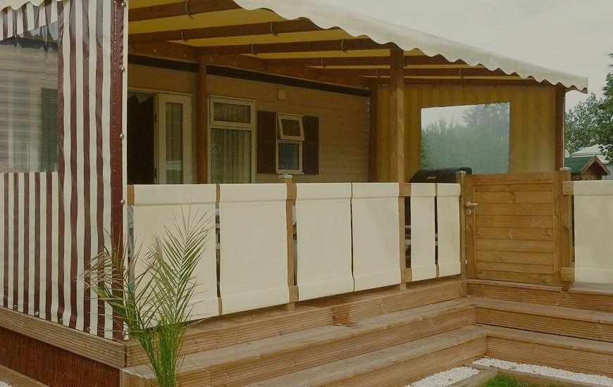 b ches de terrasse de mobil home sur mesure terrasse de mobilhome. Black Bedroom Furniture Sets. Home Design Ideas